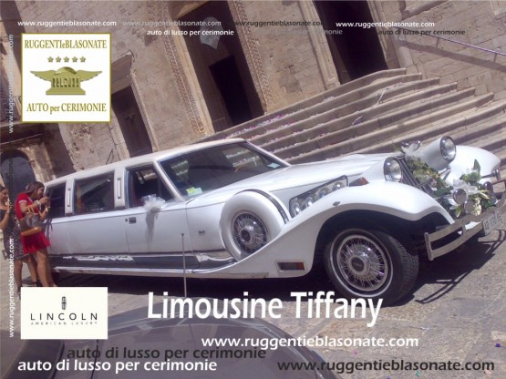 LIMOUSINE LINCOLN TIFFANY
