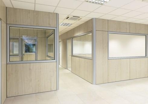 Pareti divisorie per uffici for Pareti per ufficio