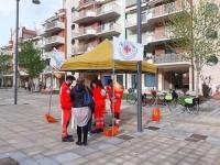 I Volontari in Servizio Civile di Protezione Civile in piazza per sensibilizzare i cittadini