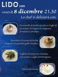 8 dicembre festeggia con noi al Lido Lido   -->> cena spettacolo con Guido Lembo