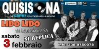 Sabato 3 febbraio --->> QUISISONA BAND  Al Lido LIDO