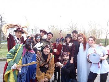 studenti e attori Ygramul a TorVergata