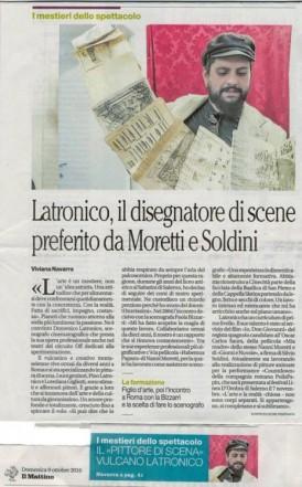 intervista allo Scenografo Domenico Latronico