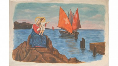 Dipinto della Madonna dei Marinai di Porto Salvo - simbolo ricorrente nella filmografia di Verderese