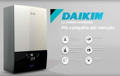 Caldaia a condensazione compatta DAIKIN D2CND