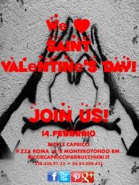 We Love Saint Valentine's Day!