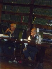 Italo Moscati e Ugo Gregoretti