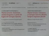 Concerto di Pasqua 2017 Istituto Italiano di Cultura di Budapest