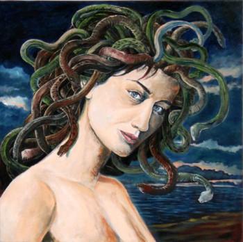 La Medusa - Olio su tela di Daniele Albatici