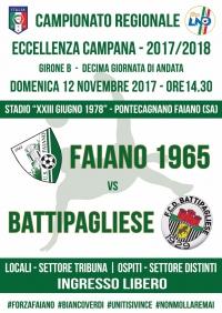 Campionato Eccellenza Campania Girone B - Decima giornata di andata
