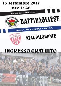 F.C.D. Battipagliese - Real Palomonte - Ingresso Gratuito ai tifosi