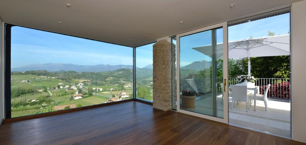 Legno alluminio - Costo di una porta finestra ...